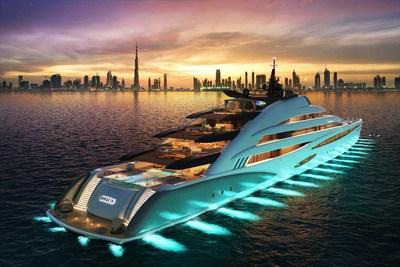 """Oceanco unveils 120-meter """"resort"""" yacht"""