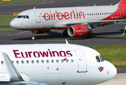 airberlin starts wet-lease deal with Lufthansa Group
