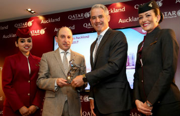 Qatar Airways now connects New Zealand with the world