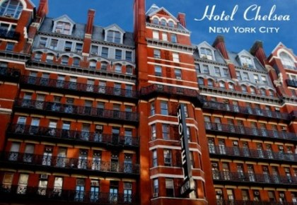 Hotel history 1884: Chelsea Hotel in Manhattan