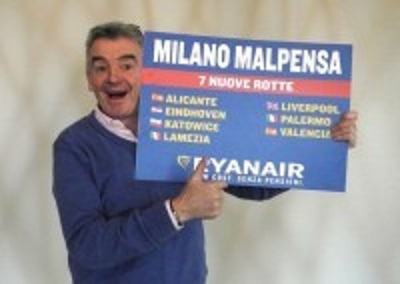 Ryanair proposes to become the feeder for Alitalia