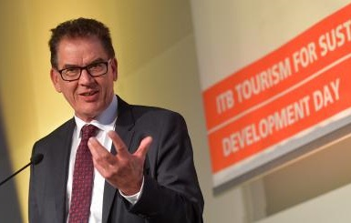 ITB Berlin: Minister Müller appeals to tourism professionals' conscience