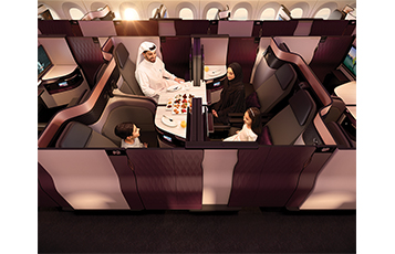 Qatar Airways unveils revolutionary new 'QSuite'