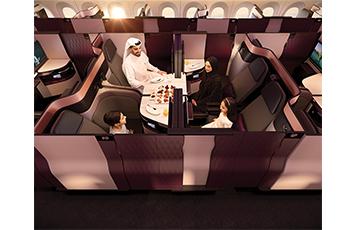 Qatar Airways unveils revolutionary new 'QSuite'
