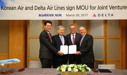 Korean Air and Delta Air Lines to deepen partnership