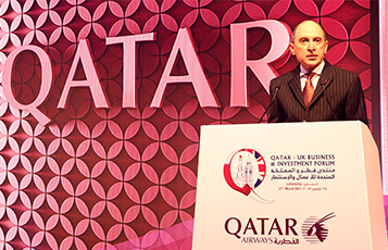 Qatar Airways celebrates its strong ties with the United Kingdom