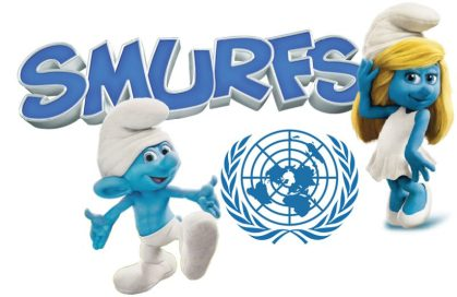 "United Nations, UNICEF and ""Smurfs: The Lost Village"" celebrate International Day of Happiness"