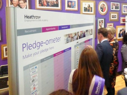Heathrow pledges to create over 500 airport apprenticeships this year