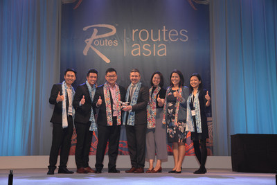 Changi Airport wins Routes Asia 2017 Marketing Awards