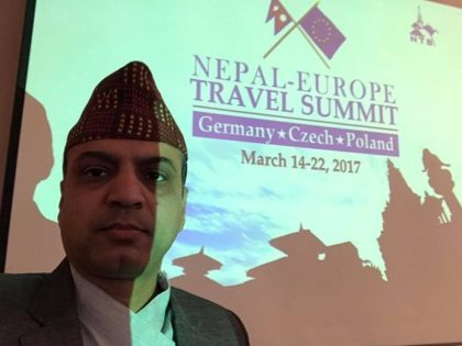 We had an epic Nepal Tourism Summit in Europe