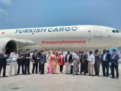 Turkish Airlines and social media phenomenon have taken off for Somalia