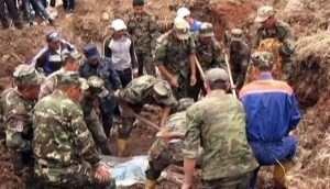 24 people die in huge Kyrgyzstan landslide