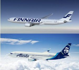 Finnair and Alaska Airlines announce frequent flyer partnership