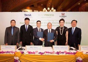 Dusit International forms strategic partnership with Dossen International Group in China