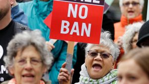No travel ban to the United States: Ban would target Muslims travelers and is not a security issue