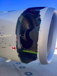 China Eastern passenger jet with massive hole in engine makes emergency landing in Sydney