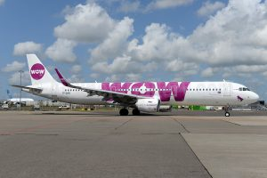 WOW air becomes first A321neo operator in Europe