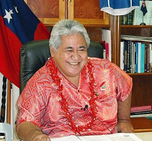 UNWTO names Prime Minister of Samoa Special Ambassador of the International Year of Sustainable Tourism for Development