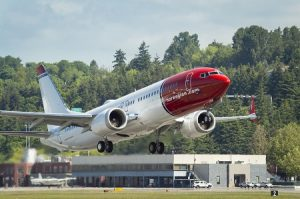 Boeing, Norwegian celebrate delivery of airline's first 737 MAX 8s