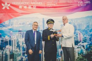Vancouver International Airport welcomes Hong Kong Airlines