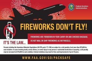 FAA: Fireworks, drones and airplanes don't mix