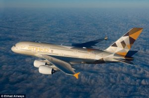 Etihad Airways A380 now on Abu Dhabi – Paris route