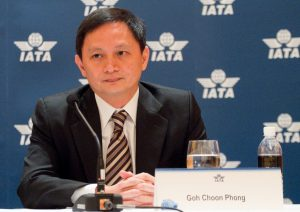 New IATA Chairman: Goh Choon Phong, CEO of Singapore Airlines
