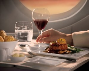 Is it eating, dining or logistics? LSG onboard cuisine