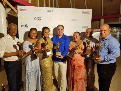 Seychelles' national airline, Port Authority & hotels shine at World Travel Awards