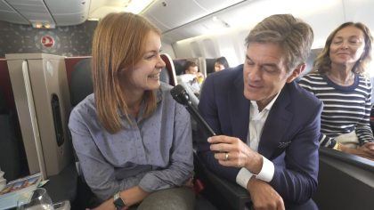 Dr. Oz and Turkish Airlines Fly Good Feel Good Project