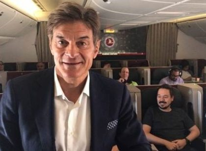Fly Good Feel Good: Healthy flight recipe from Dr. Oz and Turkish Airlines