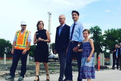 Canada's Prime Minister announces $35 million for complete redevelopment of Winnipeg's Assiniboine Park