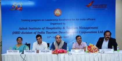 India Tourism to train Air India crew and execs