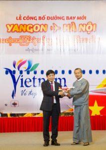 Vietjet launches Hanoi – Yangon, Myanmar route