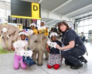 Heathrow unites for World Elephant Day