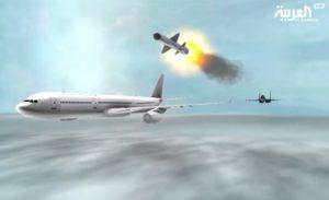Saudi Arabia's Al Arabiya TV animation video shows Saudi fighter jet downing Qatar passenger plane