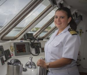 Celebrity Cruises appoints first ever female captain in the Galapagos