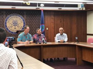 Threat in Guam: Governor relates wish to the American People, the US Government and the President