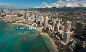New in Waikiki?  Aloha Chic, and some call it Alohilani Resort