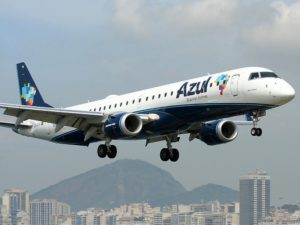 Azul reports August traffic