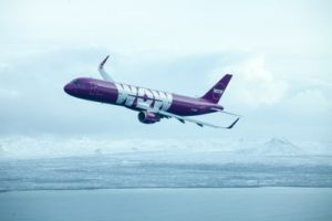 Dallas Fort Worth International Airport welcomes WOW air service to Iceland