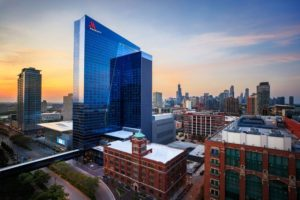 Marriott Marquis makes its debut in Chicago