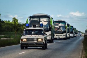 Cuba evacuates  tourists to Varadero what is now under surprise attack by Hurricane Irma