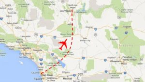 Nonstop jet service lifts off: San Diego – Vegas