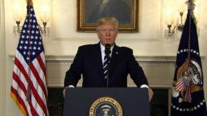 US President Donald Trump calls Las Vegas attack 'act of pure evil'