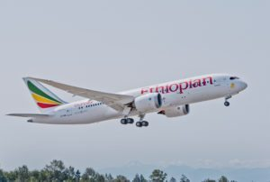 Boeing and Ethiopian Airlines celebrate delivery of first 787-9 Dreamliner