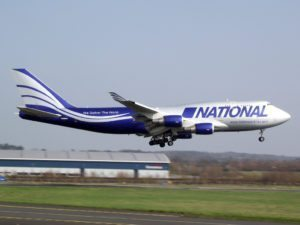 National Airlines provides massive cargo airlift to Puerto Rico in support of global relief effort