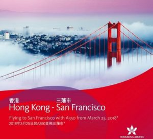 Hong Kong Airlines to launch direct flights to San Francisco