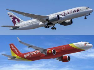 Vietjet announces interline agreement with Qatar Airways