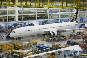Boeing rolls out Singapore Airlines' first 787-10 Dreamliner